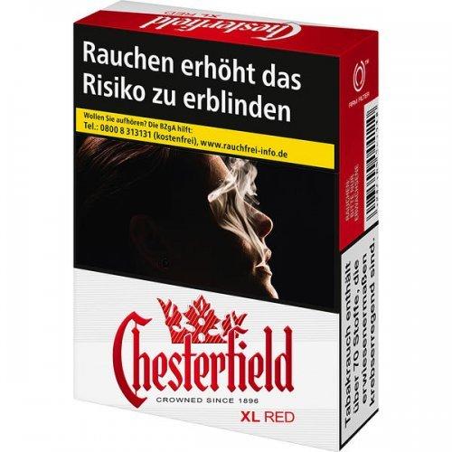 Einzelpackung Chesterfield Red  XL (1x22)