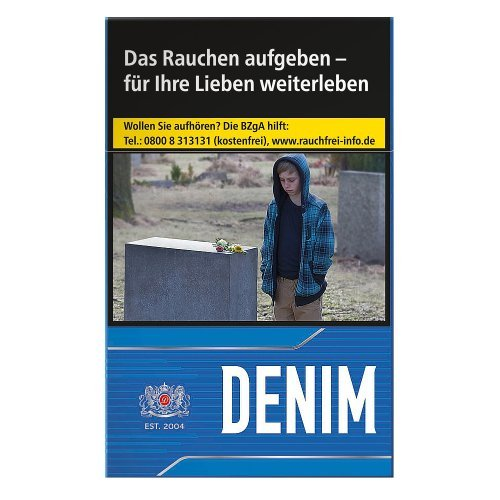 Einzelpackung Denim Blue (1x20)