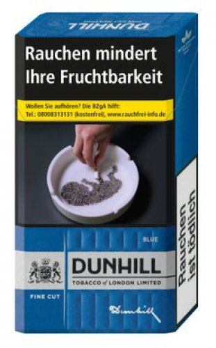 Einzelpackung Dunhill Fine Cut Blau (1x20)