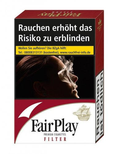Einzelpackung Fair Play Full Flavor Rot (1x20)