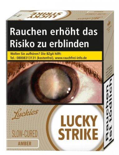Einzelpackung Lucky Strike Amber Jumbo (1x47)