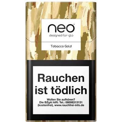 Einzelpackung neo Gold Tobacco Sticks für Glo 1 x 20 Stück
