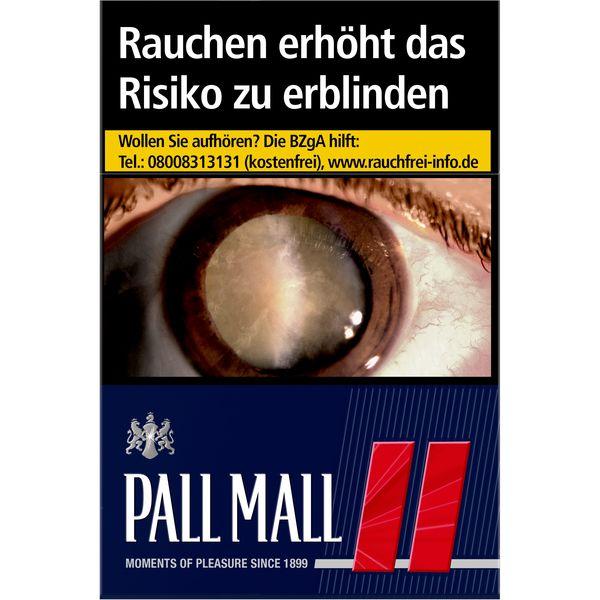 Einzelpackung Pall Mall Rot L (1x21)