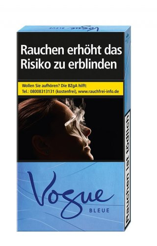 Einzelpackung Vogue SuperSlims Bleue (1x20)