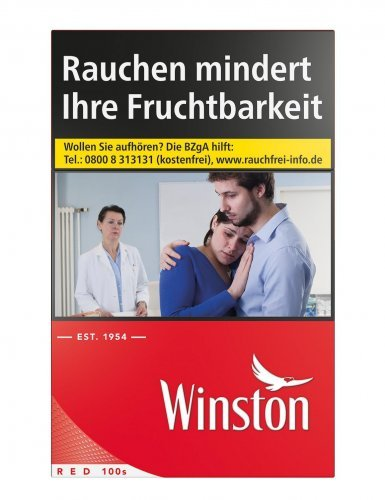 Einzelpackung Winston Red 100er (1x29)