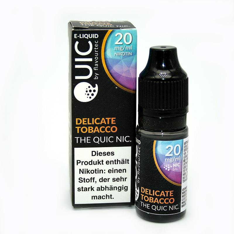 eLiquid Quic Nic Salt Delicate Tobacco 20mg Nikotin