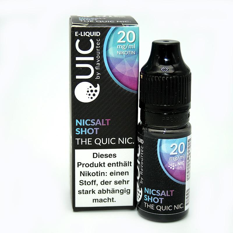 eLiquid Quic Nic Salt Nicsalt Shot 20mg Nikotin