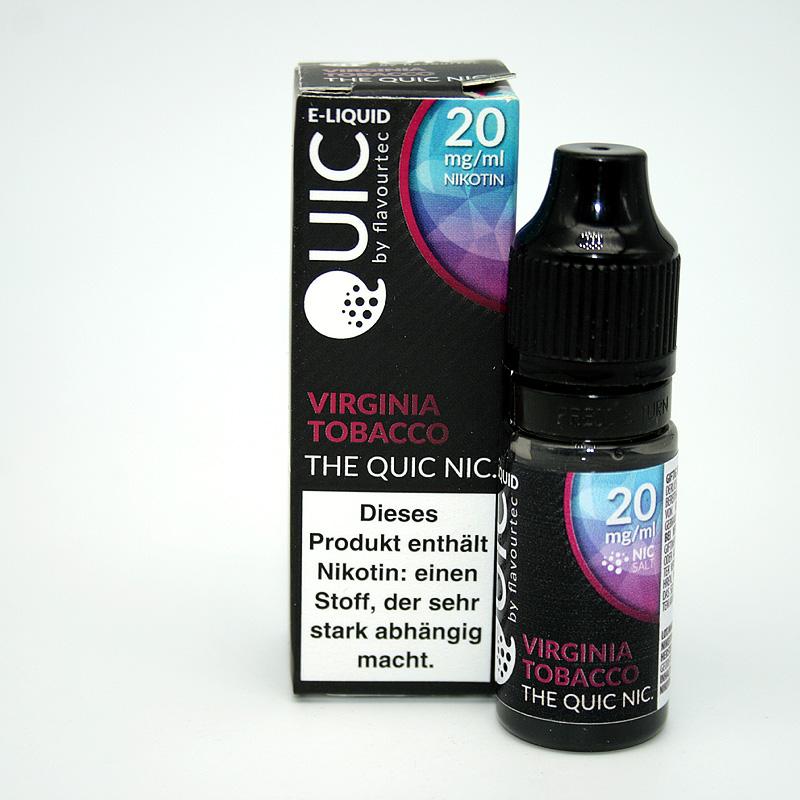 eLiquid Quic Nic Salt Virginia Tobacco 20mg Nikotin
