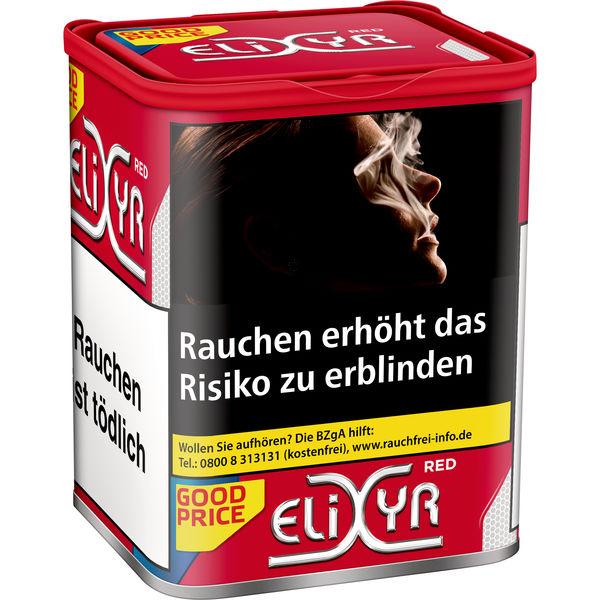 Elixyr Tabak Rot 115g Dose Zigarettentabak