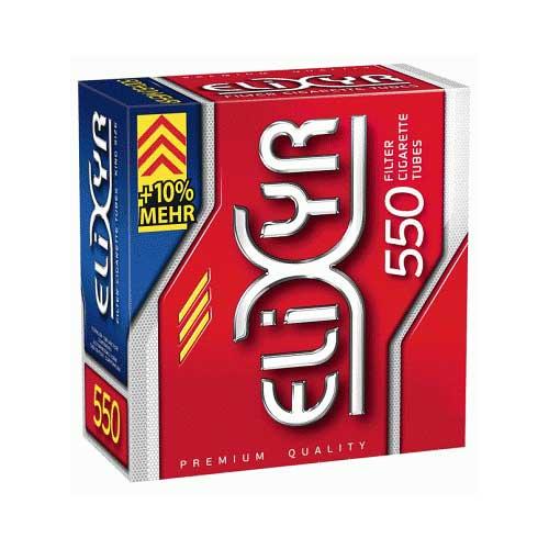 Elixyr Zigarettenhülsen Rot 550 Stück