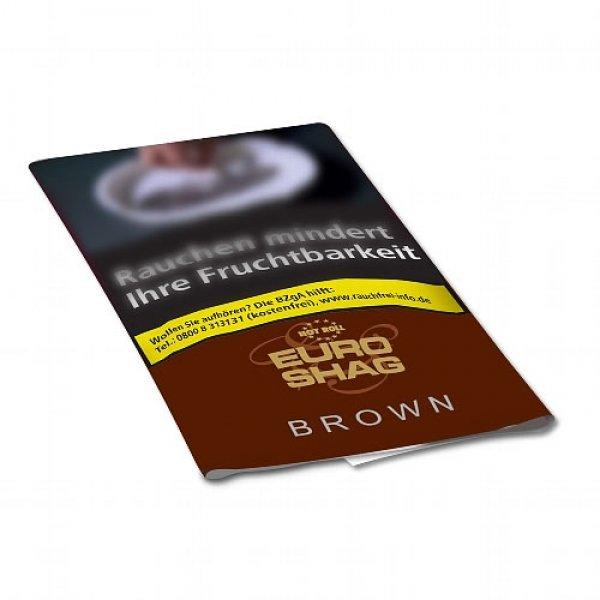 Euro Shag Zigarettentabak Brown (ehem. Bright) 30g Päckchen Feinschnitt