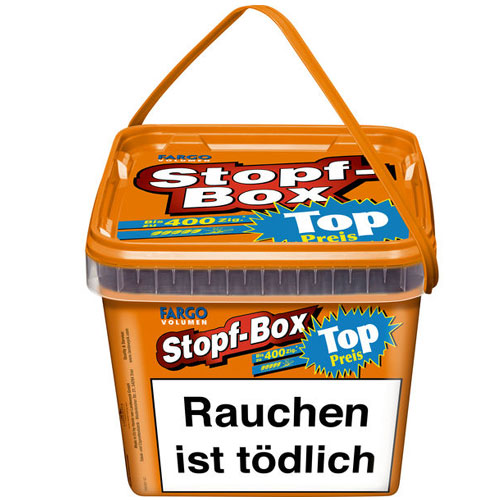 Fargo Stopf Box Orange Volumentabak 185g Eimer