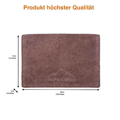 Feinschnitt-Tasche Alpenleder Sepp Leder Biscut