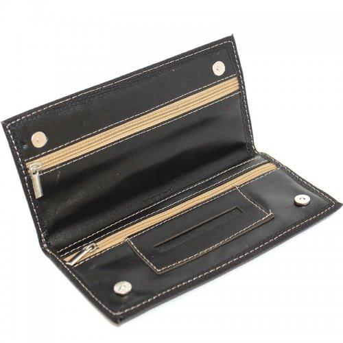 Feinschnitt-Tasche Zorr schwarz