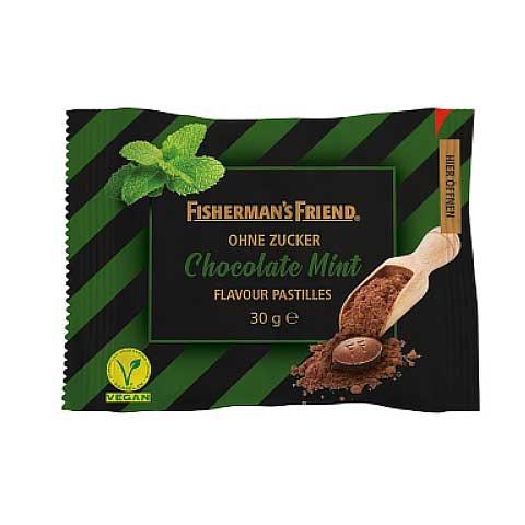 Fishermans Friend Chocolate Mint ohne Zucker