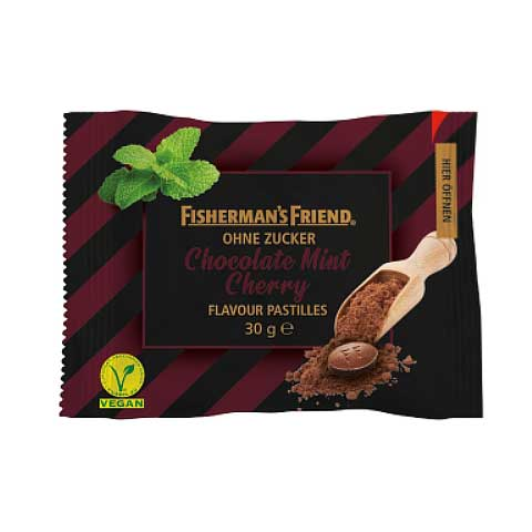 Fishermans Friend Choco Mint Cherry