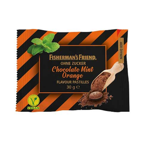 Fishermans Friend Choco Mint Orange