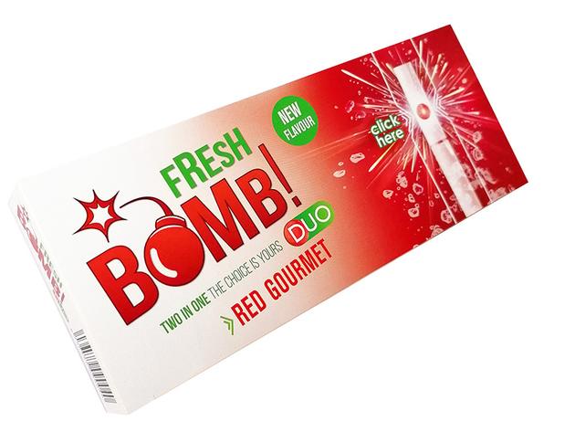 Fresh Bomb Zigarettenhülsen Erdbeer 100 Stück