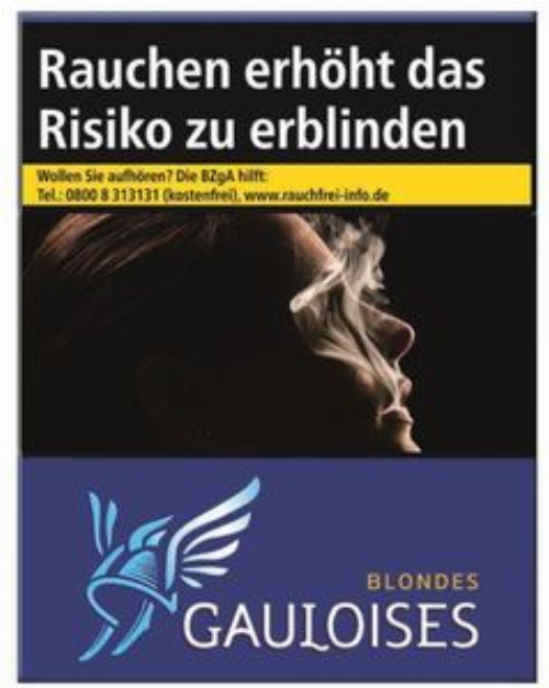Einzelpackung Gauloises Blondes Blau (1x38)