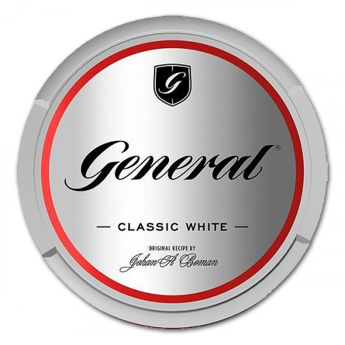 General Classic White Chewing Bags 18g Dose