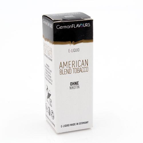 GF American Blend Tobacco e-Liquid 0 mg Nikotin