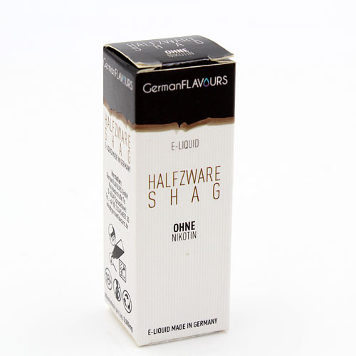 GF Halfzware Shag e-Liquid 0 mg Nikotin