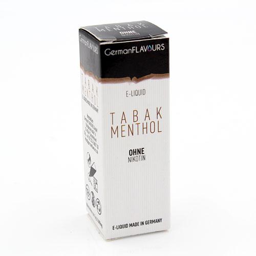 GF Tabak Menthol e-Liquid 0 mg Nikotin