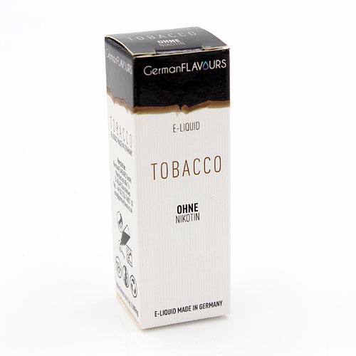 GF Tobacco e-Liquid 0 mg Nikotin