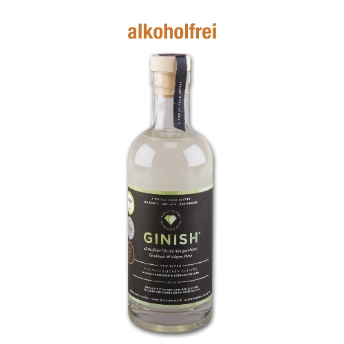 Ginish Gin Alkoholfrei unter 0,5% Vol.