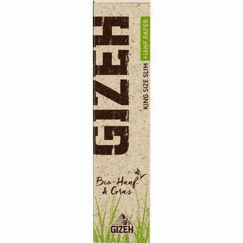 Gizeh Hanf+Gras King Size 1x34 Blättchen