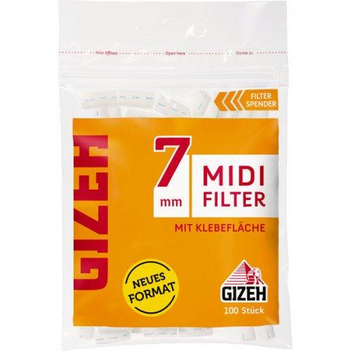 Gizeh Midi Filter 7 mm