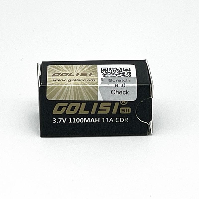 Golisi 18350er Akku Batterie mit 1100 mAh S11