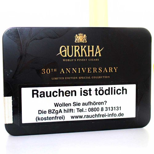 Gurkha Treinta Toro Zigarren (6x54)
