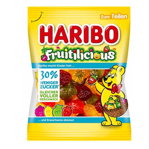 Haribo Fruitilicious 160g Packung