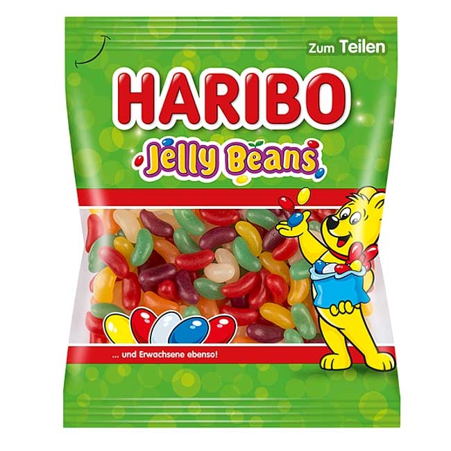 Haribo Jelly Beans 175g Packung