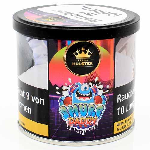 HOLSTER Smurf Daddy Shisha Tabak (Joghurt, Maracuja, Brommbeere, Himbeere)