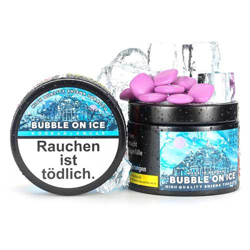 Hookah Squad Bubble On Ice (Süßer Kaugummi) Shisha Tabak 200g