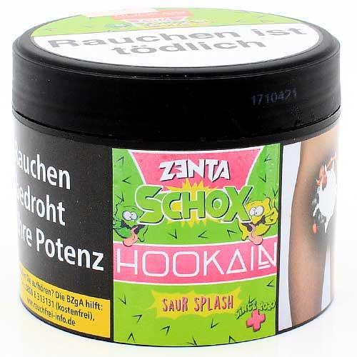 HOOKAIN Zanta Schox Saur Splash Shisha Tabak (Limette & Zitrone)