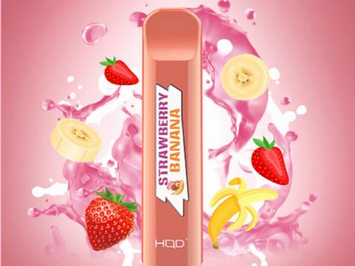 HQD Cuvie Strawberry-Banana Einweg E-Shisha ca. 300 Züge