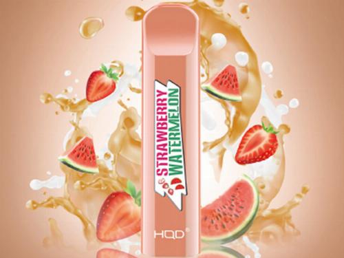 HQD Cuvie Strawbery-Watermelon Einweg E-Shisha ca. 300 Züge