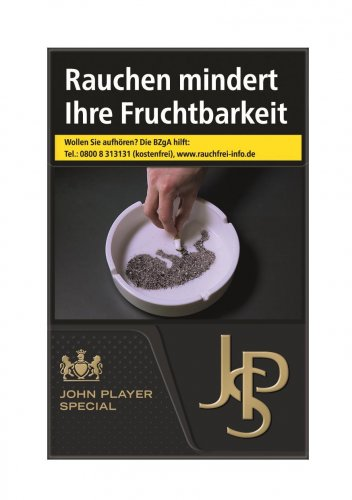 John Player Special JPS Black (10x22)