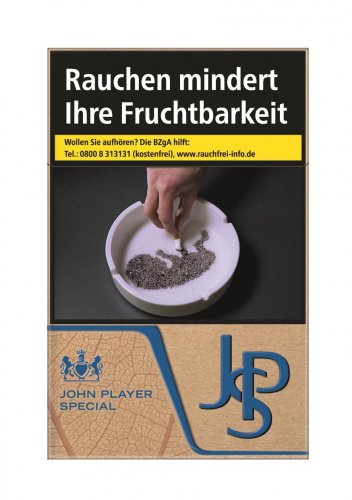 John Player Special JPS Just Blue (10x20)