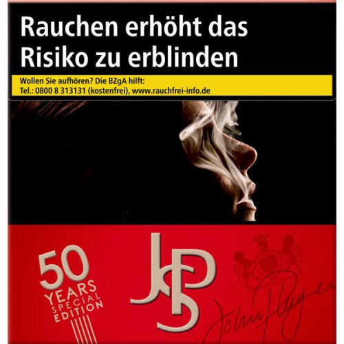 Einzelpackung John Player Special JPS Red (1x50)
