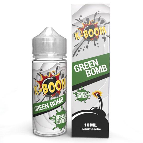 K-Boom Green Bomb Aroma 10ml Bottle in Bottle