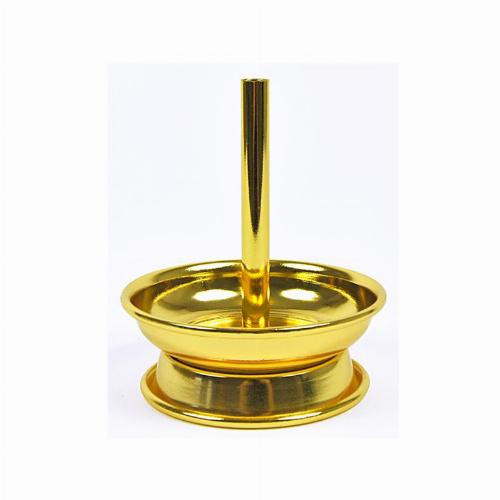 Kaminaufsatz Metall für Shishakopf Gold 6,8cm