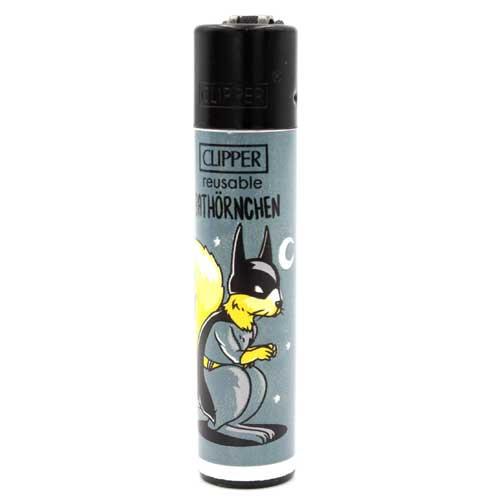 Clipper Feuerzeug Eichhörnchen 4v4