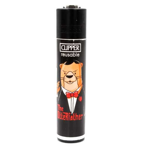 Clipper Feuerzeug Otter 3v4