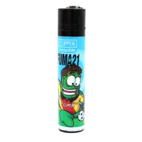 Clipper Feuerzeug Players Weed 2v4