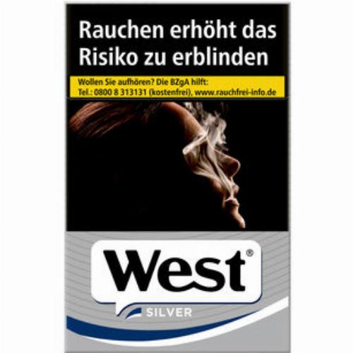 West Silver Einzelpackung (1x20)