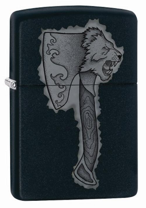 Zippo Feuerzeug Lion Axe Design